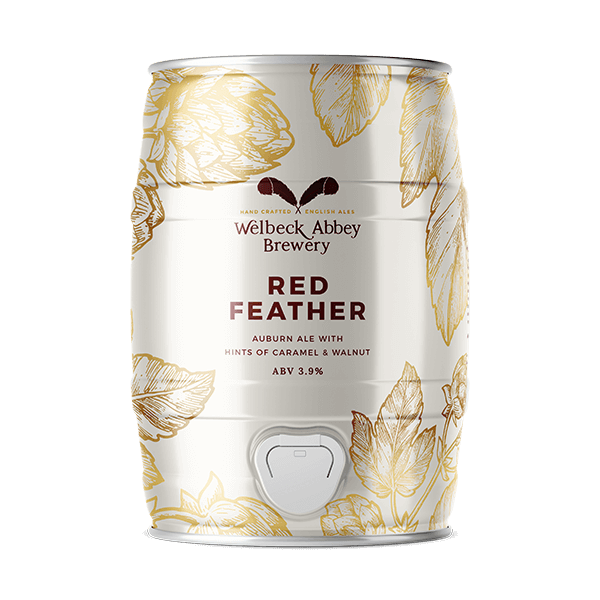 Mini Keg RED FEATHER